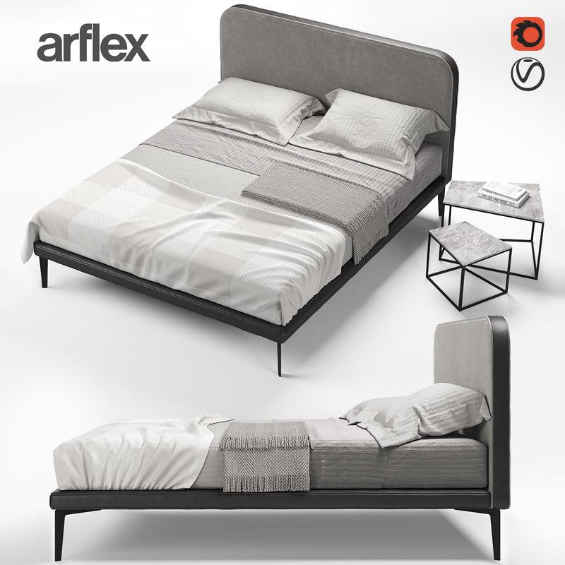 3D arflex suite bed
