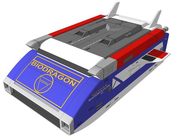 bioman sketchup 3D model