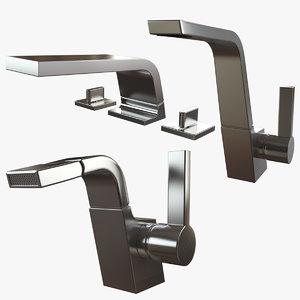 cl1 mixer lavatory 3D model