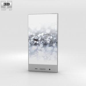 3D model sharp 2 aquos