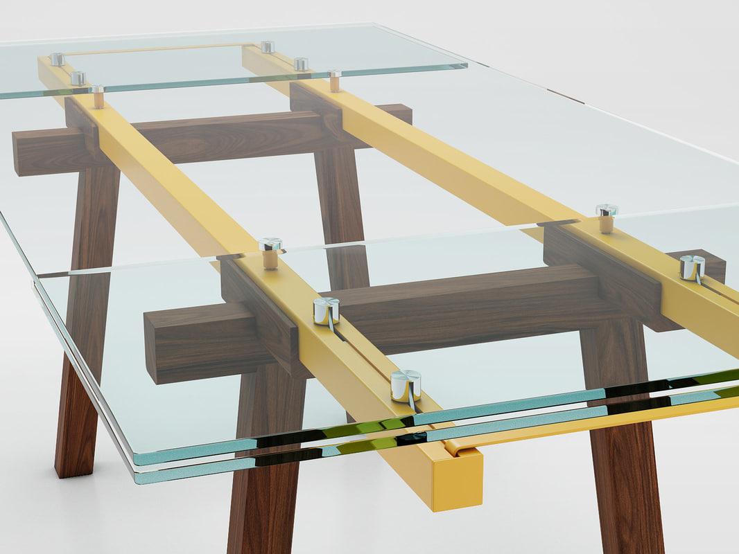 tracks bonaldo 3D model