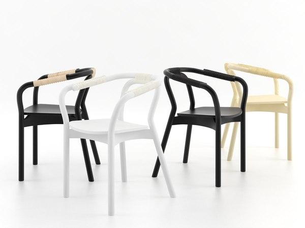 knot chair 3D model