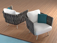 3D tosca clubchair model