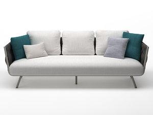 tosca sofa 233 3D model