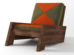 3D asturias armchair model
