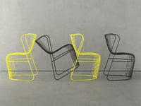 3D kaskad chair