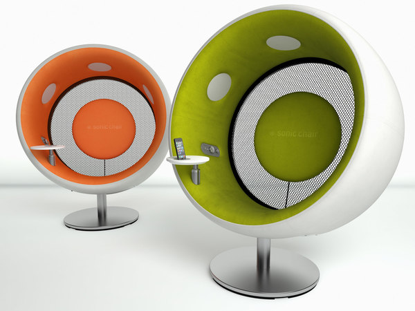 sonic chair 3D model