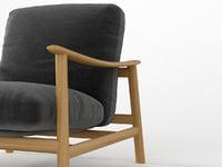 3D sushi chair