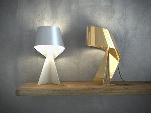 ribbon light 3D model