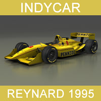 3D model indycar reynard 1995 car