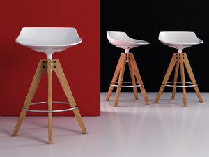 flow stool vn 4-65 3D model