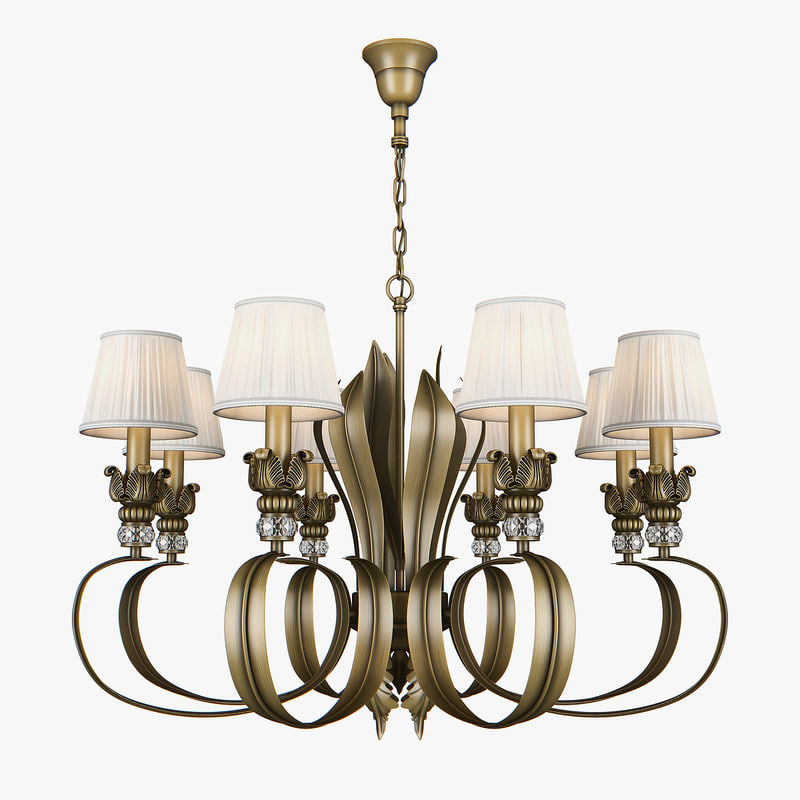 3D model chandelier 783081 antiqua lightstar