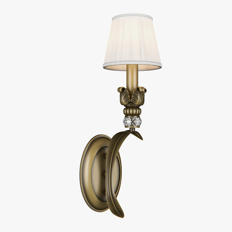 sconce 783611 antiqua lightstar 3D model