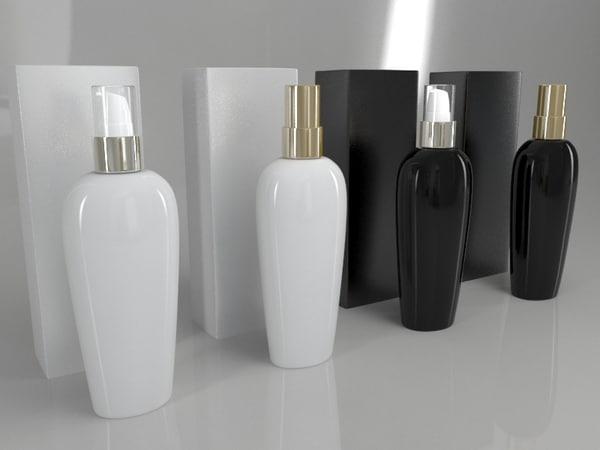3D 4 bottle
