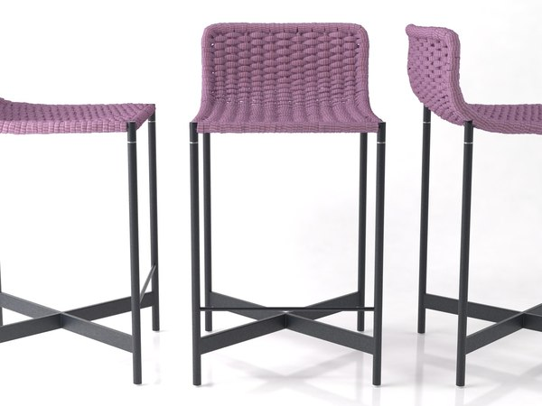 3D model heron barstool
