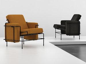 traffic armchair 3D model