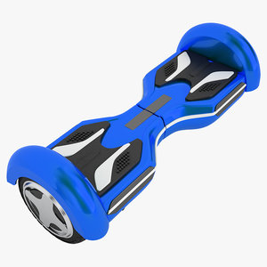 3D gyroscooter model