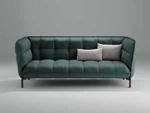 3D husk sofa hs225
