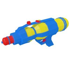 water gun model