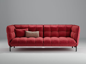 3D model husk sofa hs261