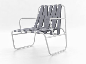 3D dozequinze armchair