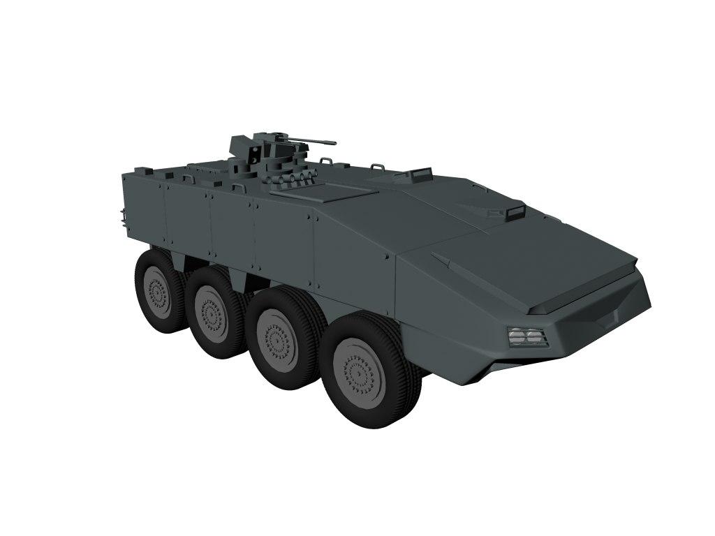 3D tank terrex