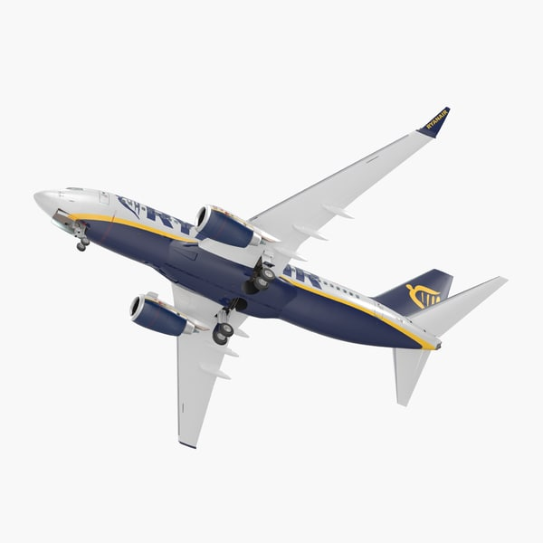 3D model boeing 737-700 interior ryanair