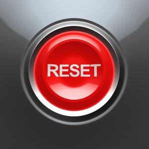 reset button 3D model