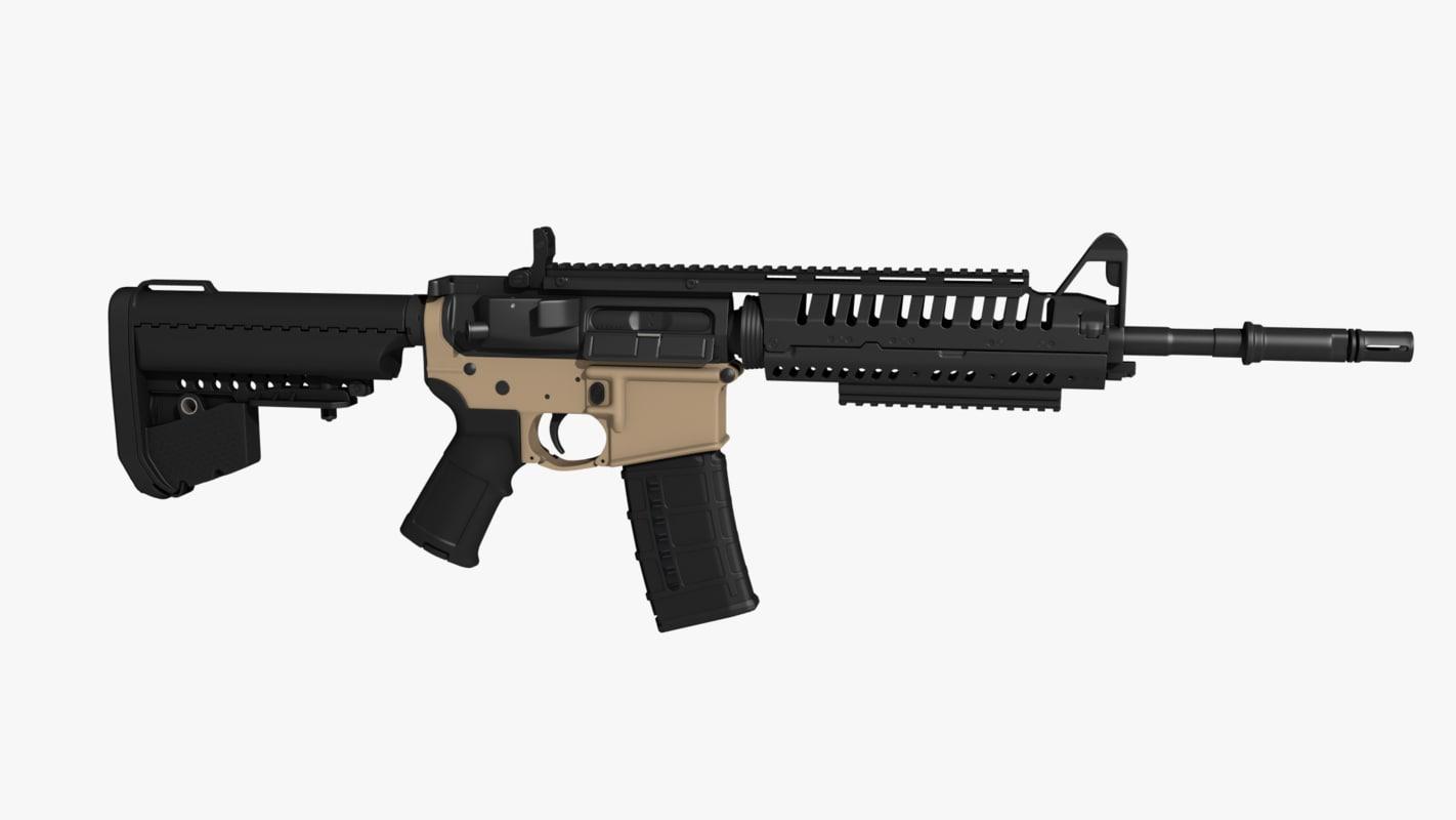 rifle magazine 3D model