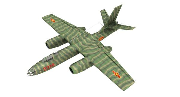 ilyushin il-28 beagle bomber model