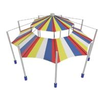 playground tent 3D