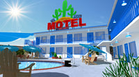 Motel with swimming pool