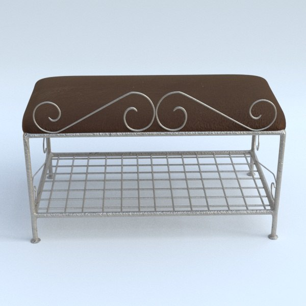 3D ottoman day-bed