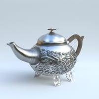 metal kettle 3D model