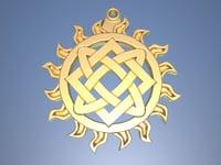 Lada star amulet