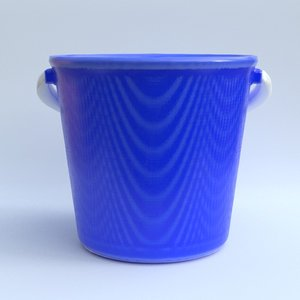 plastic bucket model