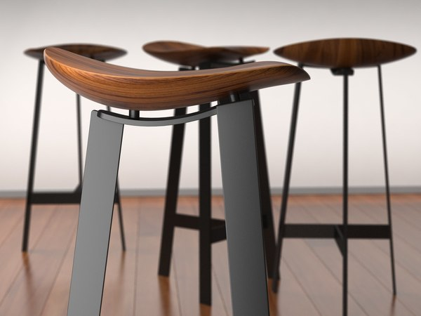 easy barstool 3D model