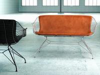 wire lounge sofa model