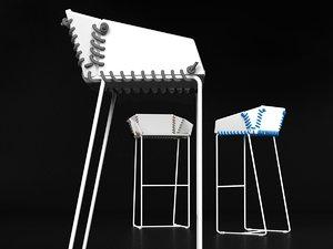 textile bstool 3D model