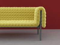 ruché sofa 3D model