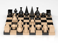 man-ray chess 3D model