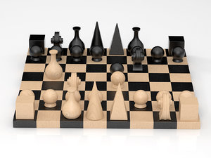 man-ray chess 3D model