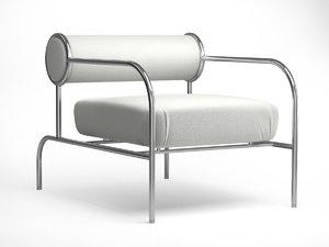 3D model sofa arms