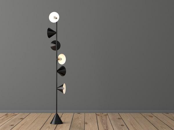 vertical 1 3D model
