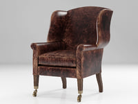 3D asher leather chair model
