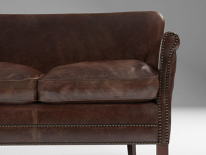 professor s leather double 3D model