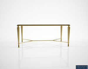 3D vaughan brockton gilded coffee table