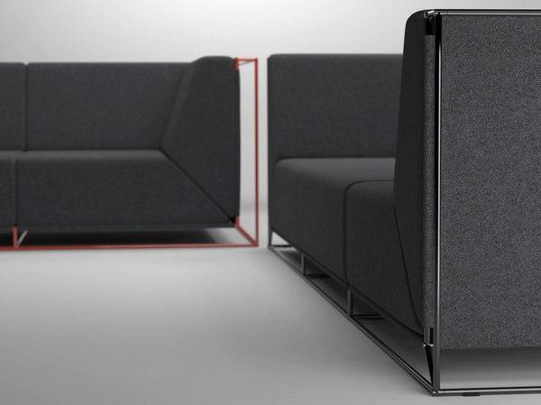 floating sofa 3D