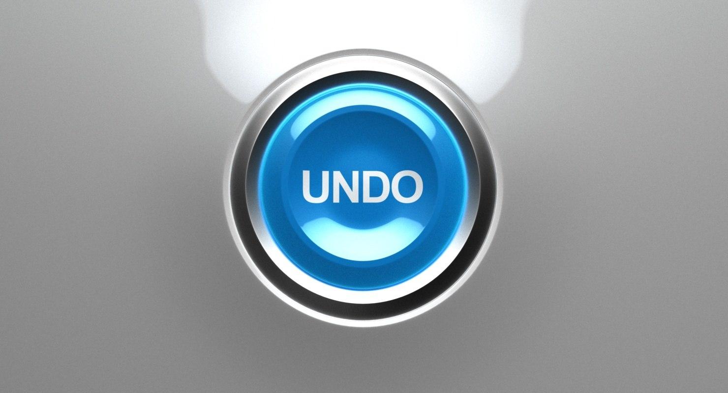 3D undo button