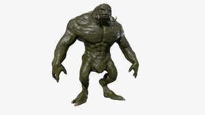 3D giant monster